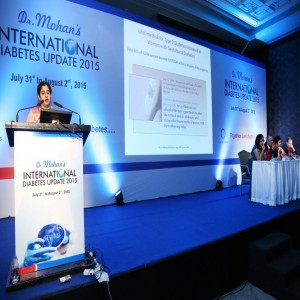 Dr. Mohan's International Diabetes Update 2015 held in Chennai
