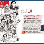 Dr.V.Mohan, listed in 100 Change Agents of Tamil Nadu by Deccan Chronicle.