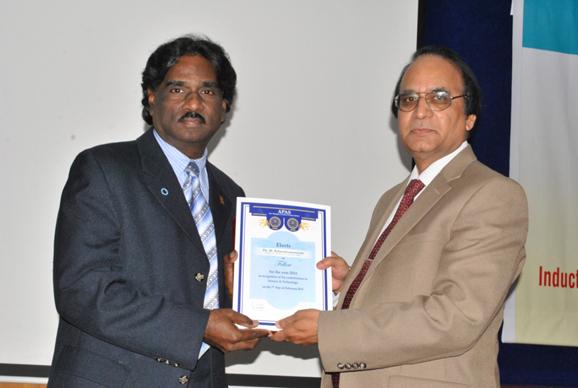 Dr. Balasubramanyam-Award