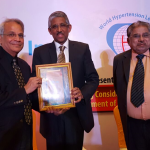 Dr. V. Mohan conferred World Hypertension League Award