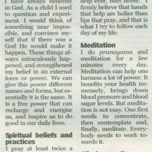 THE INDIAN EXPRESS, Monday, April 16, 2012