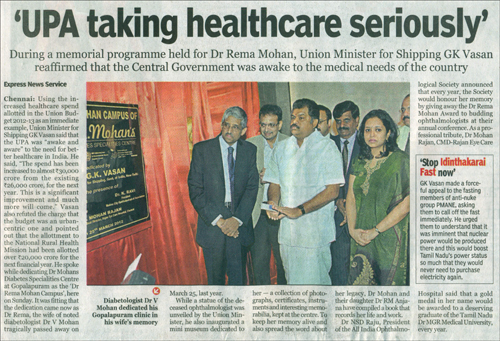 The New Indian Express, Monday, March 26,2012