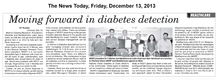 The News Today, Friday, December 13, 2013
