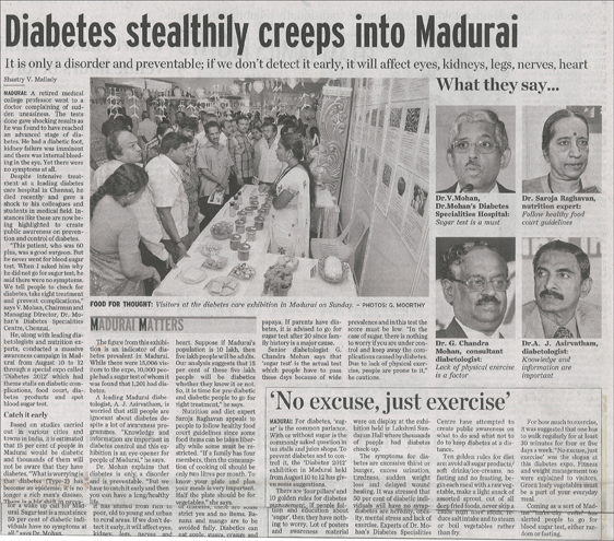 The  hindu, monday, August 13, 2012
