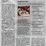 Students with diabetes to get break during CBSE exams